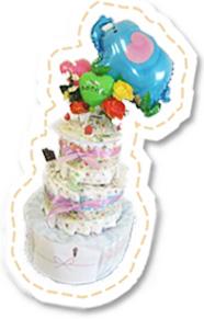 商品写真_おむつケーキ