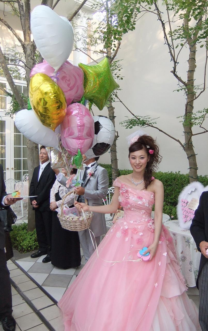 プリンセスにはバルーンブーケが似合います♥
