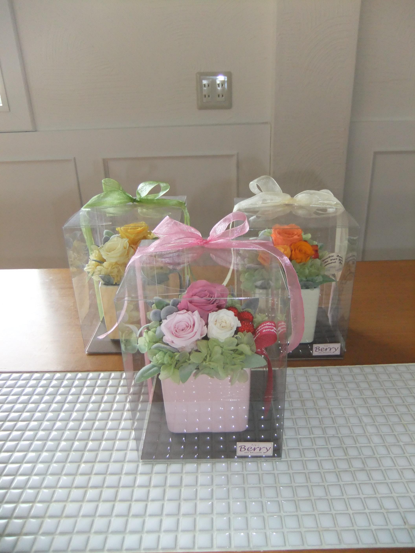 価格も3千円代で、お見舞い・送別などちょっとしたプレゼントに重宝します(^v^)