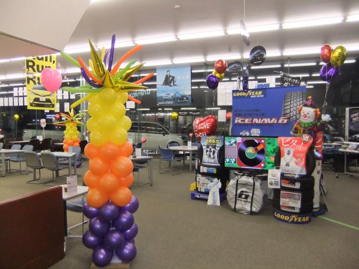 会場や店舗に、たくさんバルーンを飾ると賑やかでワクワクした空間に!フェアやイベントにぴったりです♪